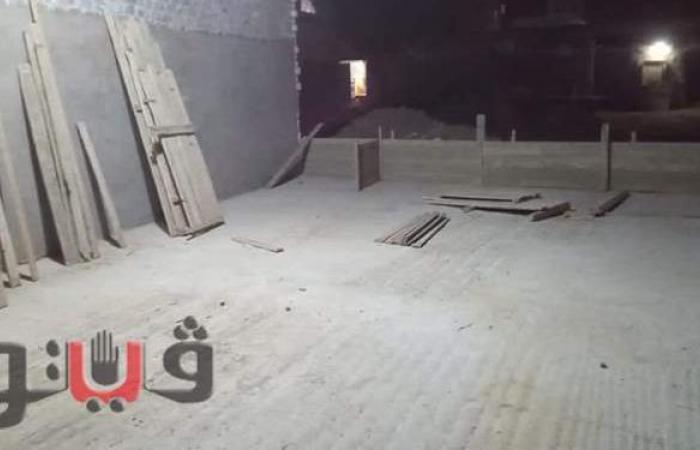 إزالة شدة خشبية لبناء مخالف ورفع 35 طن قمامة ببلبيس في الشرقية