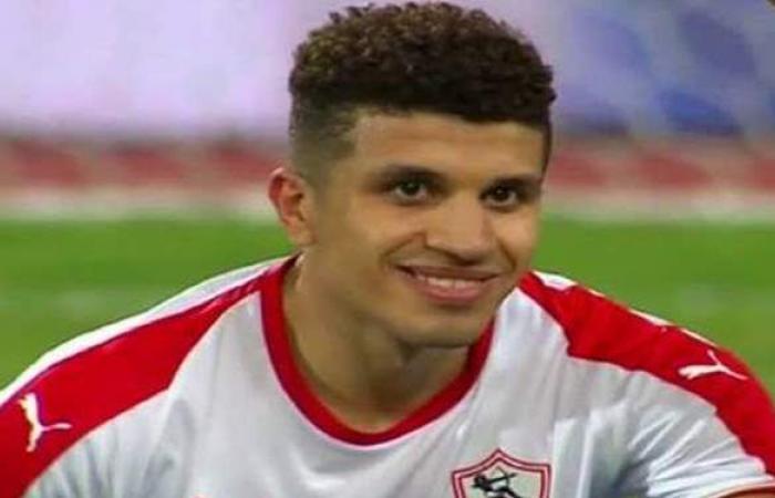 محمد عبد الغني راحة من تدريبات الزمالك