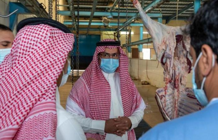 بالصور.. أمين الباحة يتابع جاهزية المسالخ وأسواق الماشية استعدادًا لعيد الفطر