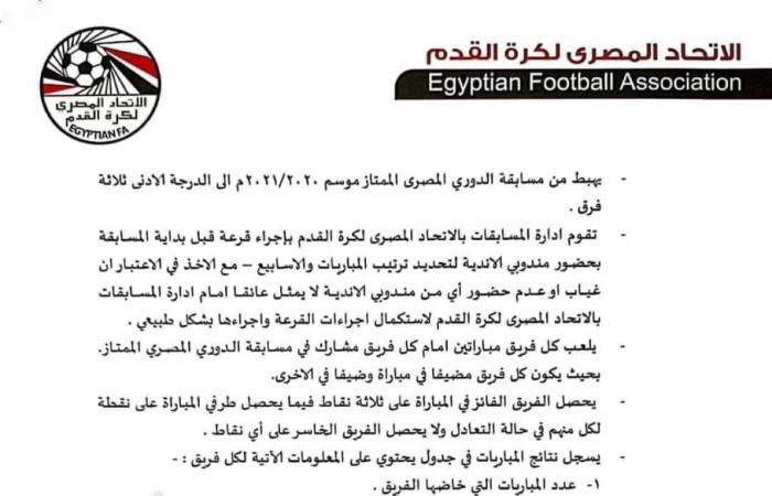 اتحاد الكرة يكشف كيف يحدد الأندية الأفريقية قبل 30 يونيو.. بعد مأزق كاف