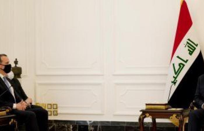 الكاظمى يبحث مع وفد أمريكى انسحاب القوات المقاتلة من بغداد وتطوير التعاون