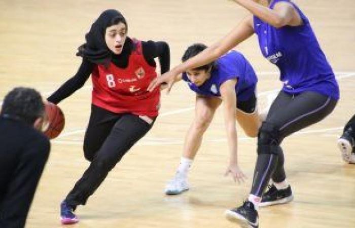 الاهلي يواجه سبورتنج فى نهائي دوري سيدات السلة