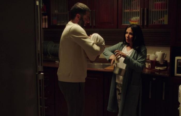 """مسلسل لعبة نيوتن الحلقة 22.. """"سارة"""" تصف """"مؤنس"""" بالمنافق وتطلب منه الطلاق"""