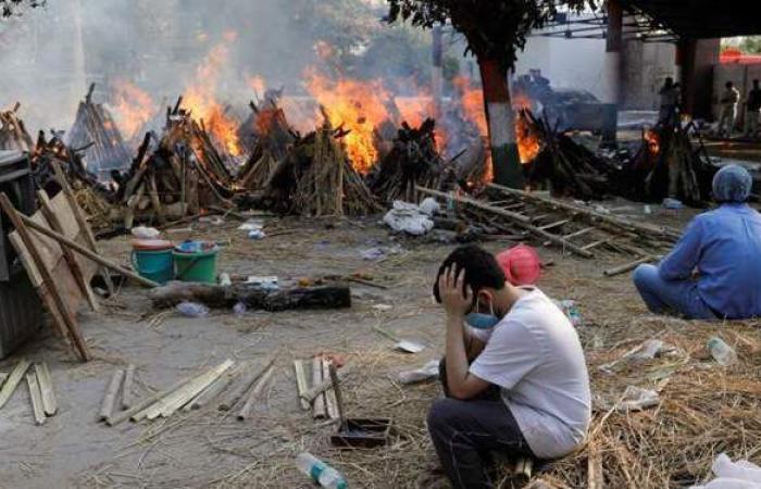 لليوم الـ 13 على التوالي.. الهند تواصل تسجيل الأرقام الكارثية في إصابات ووفيات كورونا