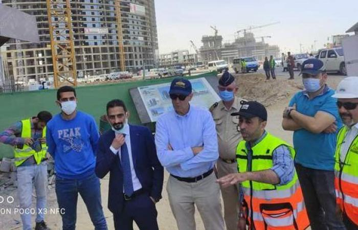 السفير الألماني بالقاهرة يتفقد مشروعات مدينة العلمين الجديدة