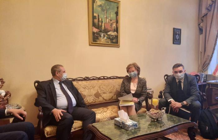 """توقيع """"بروتوكول التعاون الإنسانى"""" بين القاهرة وموسكو بالسفارة المصرية بروسيا"""