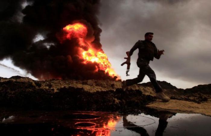 مسلحون يهاجمون آبار نفط في شمال العراق
