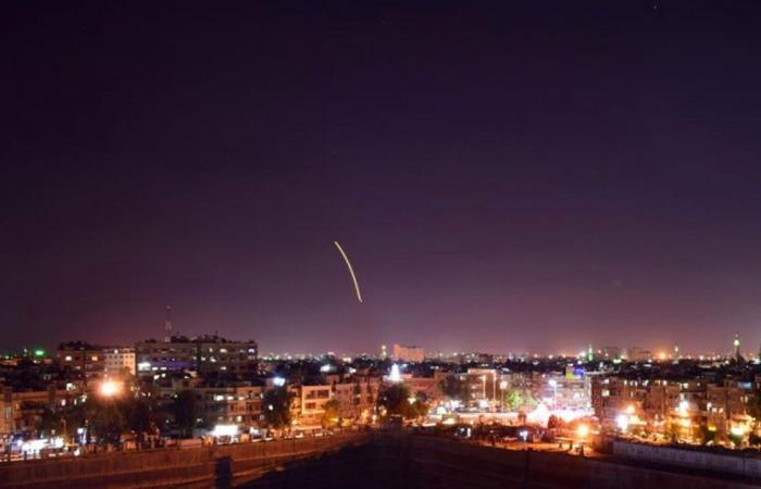 الدفاعات الجوية السورية تتصدى لعدوان إسرائيلي بالصواريخ باتجاه حماة