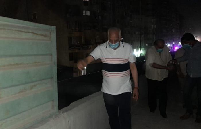 محافظ الجيزة يوجه رئيس حى الطالبية بسرعة تطوير شارع ترسا: الناس لازم يحسوا بالفرق
