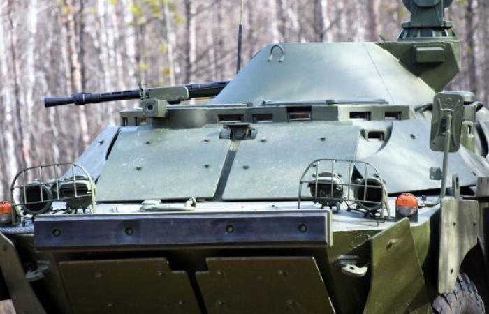 عرض صور المركبات القتالية الروسية الجديدة لقوات الإنزال الجوي