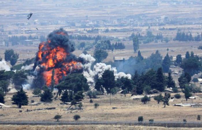 المشاهد الأولى لتصدي الدفاعات السورية للهجوم الإسرائيلي على اللاذقية.. فيديو وصور