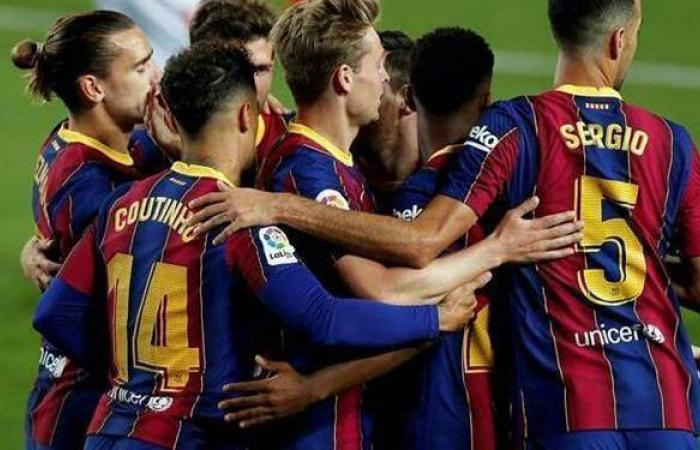 برشلونة يستعد لإعلان الصفقة الثانية بعد التعاقد مع سيرجيو أجويرو