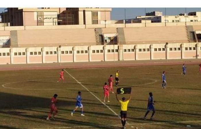 8 مباريات في مجموعة الصعيد بدوري القسم الثاني