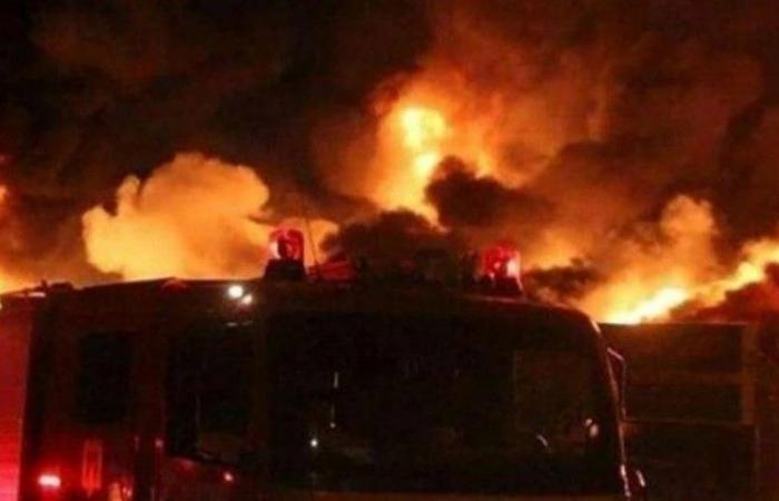 الحوادث الغامضة تضرب مجددا .. حريق يلتهم مصفاة نفط طهران