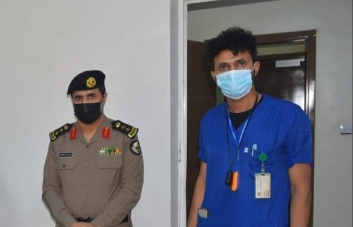 شرطة صامطة تنظِّم حملة تبرع بالدم لمنسوبيها