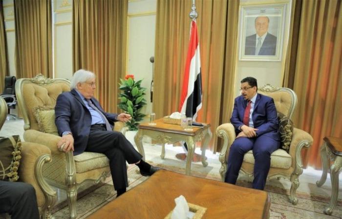 وزير خارجية اليمن لغريفيث: متى يضغط المجتمع الدولي على الحوثي؟