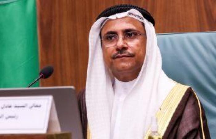 رئيس البرلمان العربى: الرئيس السيسى زعيم عربى حمى سيادة الدول العربية