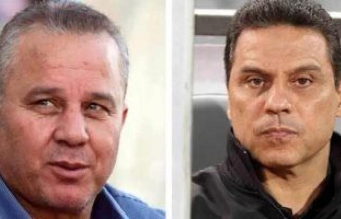 حسام البدري وجهازه يحضرون مران المنتخب الأولمبى غدا