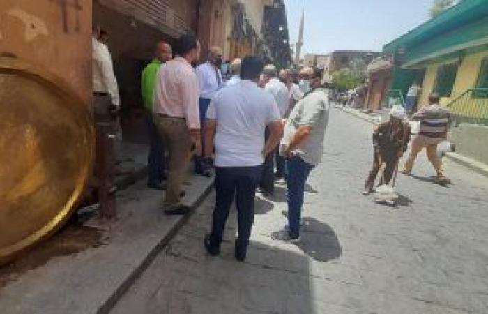 لجان لمعاينة مناطق التطوير بالقاهرة التاريخية لبحث المشاكل مع السكان.. صور