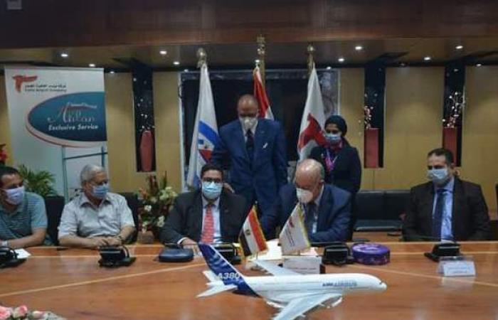 مطار القاهرة يوقع بروتوكول تعاون مع قسطور مصر للصناعة