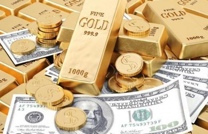 ارتفاع الذهب وانخفاض الدولار اليوم الجمعة 11 يونيه 2021
