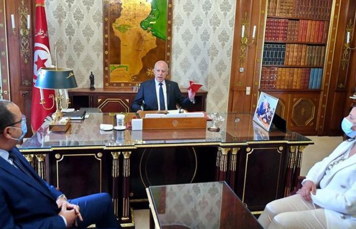 قيس سعيد: لن أترك تونس تسقط.. ولا مساس بمؤسسات الدولة