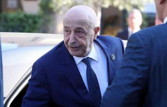 عقيلة صالح يزور روما اليوم لبحث التطورات الليبية