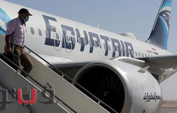 مصر للطيران تنقل 4900 راكب على متن 56 رحلة