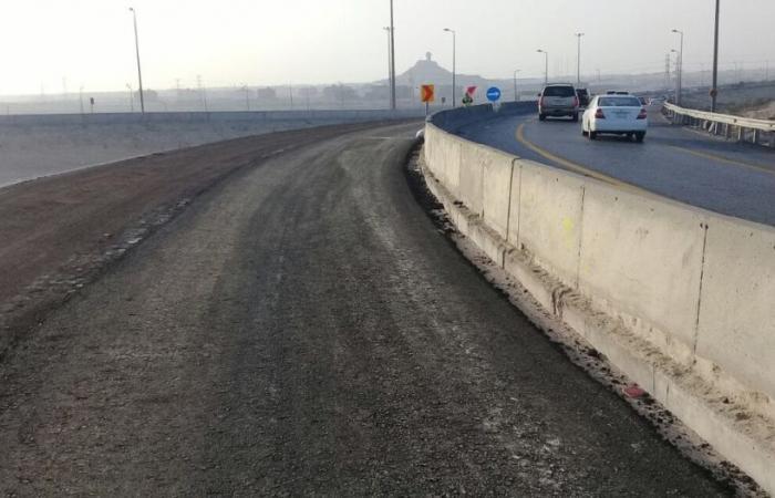 وزارة النقل تُزيل أكثر من مليوني م3 من الرمال خلال 10 أيام