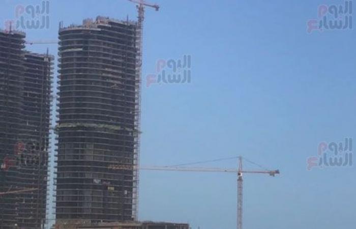 """شاهد أبراج """"العلمين"""" أحدث مدينة مصرية على ساحل المتوسط.. فيديو وصور"""