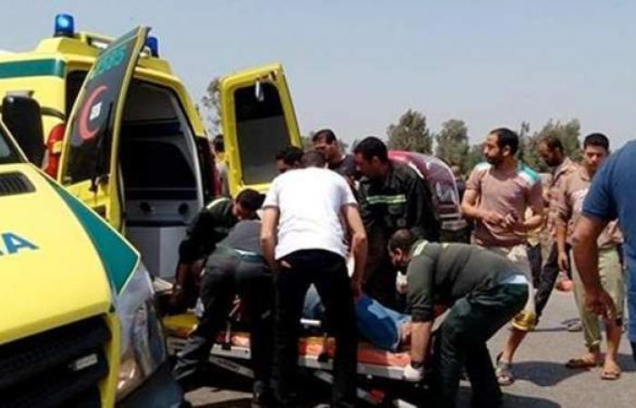 مصرع وإصابة 17 شخصا في حادث مروري بالمنيا