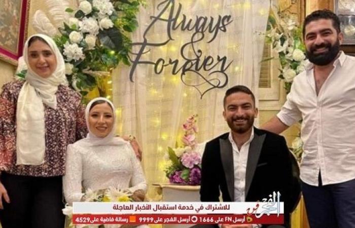 فادي خفاجة ينشر صورا من حفل خطوبة هادي خفاجة