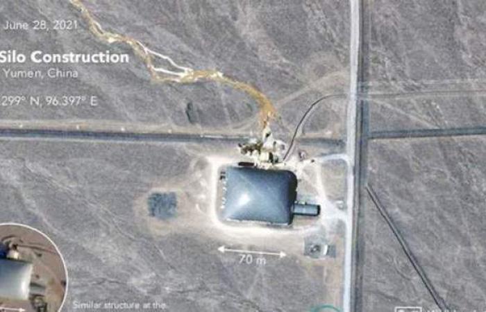 أمريكا ترصد بناء الصين لـ100 منصة جديدة للصواريخ الباليستية