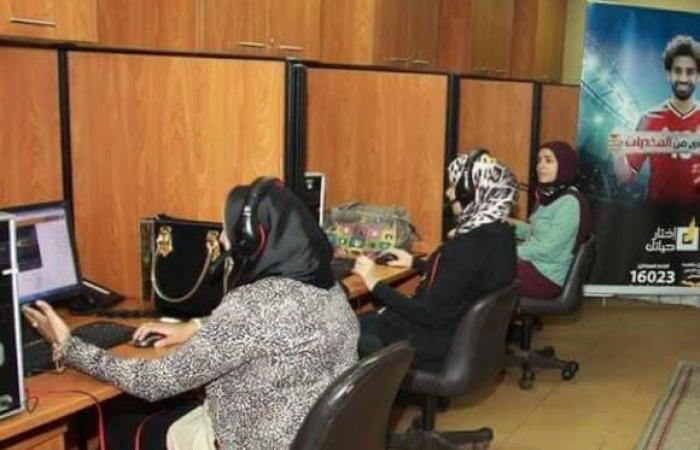 """وزيرة التضامن تؤكد استمرار عمل الخط الساخن """"16023"""" لعلاج مرضى الإدمان خلال العيد"""