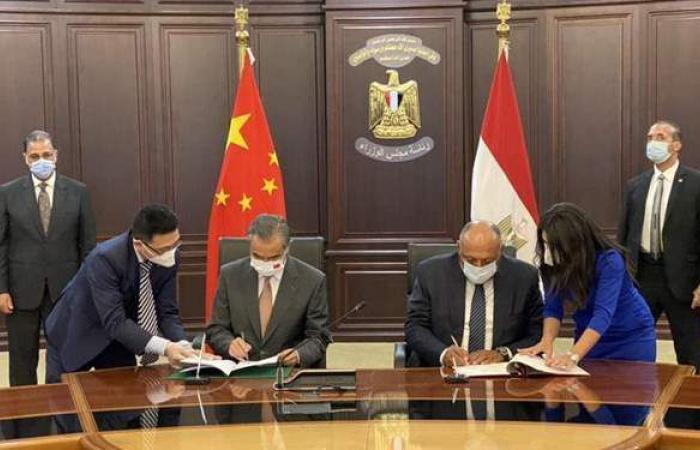 مصر والصين يوقعان اتفاقية جديدة.. تعرف عليها | صور