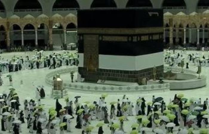 الحج السعودية: 60 ألف حاجٍ اكتمل وصولهم للأراضى المقدسة