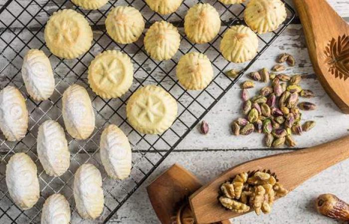 طريقة عمل معمول التمر لحلويات العيد