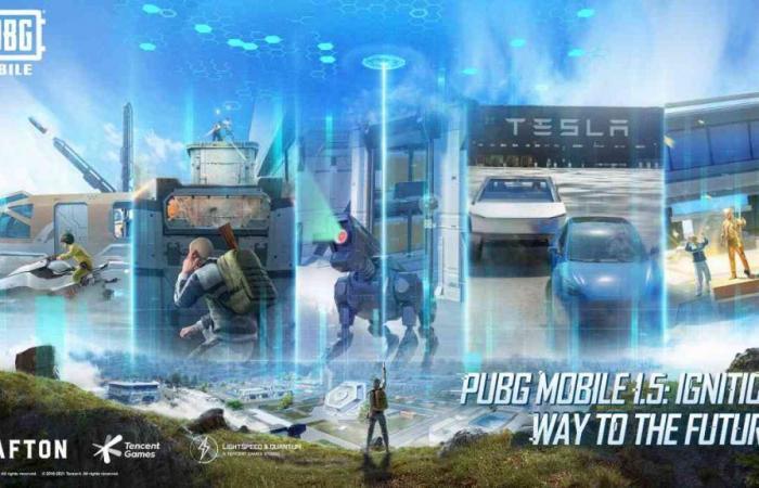 إطلاق تحديث 1.5 للعبة PUBG Mobile مع خريطة Erangel والمزيد
