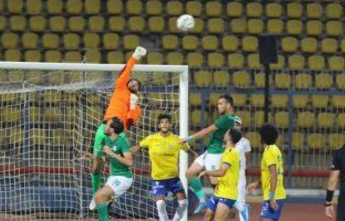 المصري يفوز على الإسماعيلي بهدف نظيف وديا