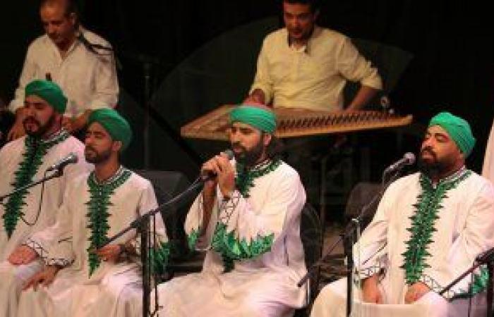 """""""الحضرة"""" للإنشاد الدينى تقدم توليفة غنائية صوفية بساقية الصاوى 29 يوليو"""