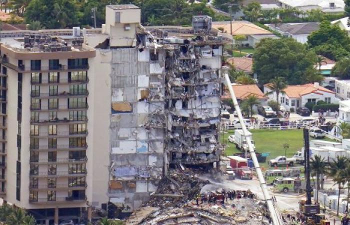 الحصيلة النهائية لضحايا انهيار مبنى في فلوريدا 98 قتيلا