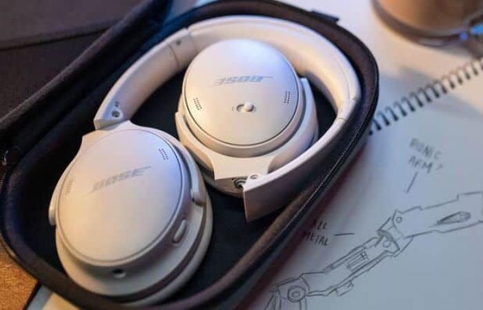 Bose تعلن عن سماعات QuietComfort 45
