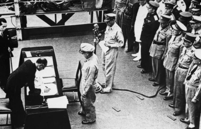ذكرى استسلام الجيش الياباني في الحرب العالمية الثانية