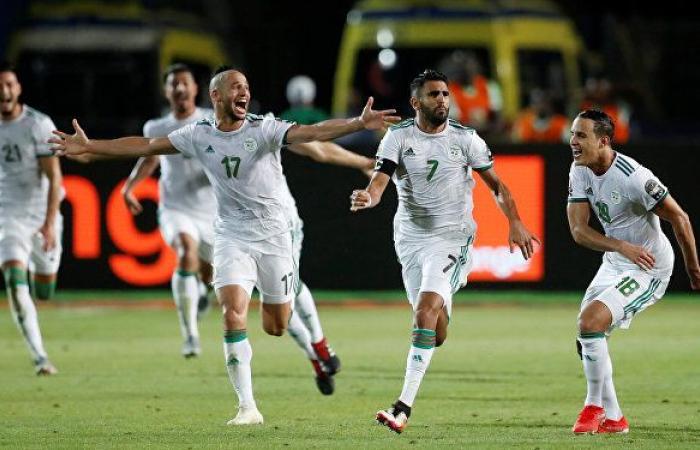 أهداف مباراة الجزائر وجيبوتي 8-0 في تصفيات كأس العالم... فيديو