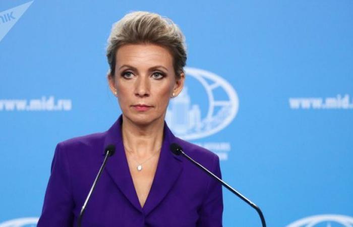 """زاخاروفا: نأسف لأن تقرير الاستخبارات الأمريكية حول منشأ """"كورونا"""" أدى إلى تكهنات"""
