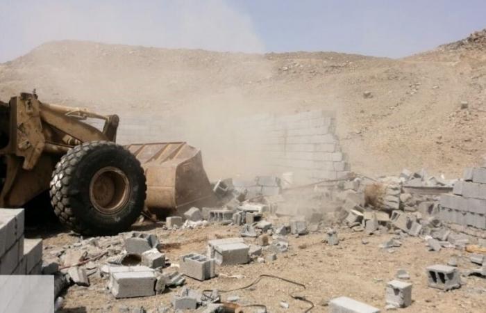 استعادة أراضٍ حكومية بمساحة تجاوزت 8 آلاف م2 في جدة