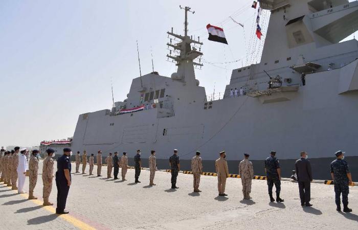 """انطلاق التمرين البحري المشترك """"زايد 3"""" بين الإمارات ومصر"""