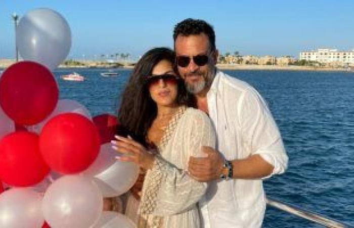 """حقيقة إهداء ماجد المصرى """"يخت"""" لزوجته فى عيد ميلادها"""