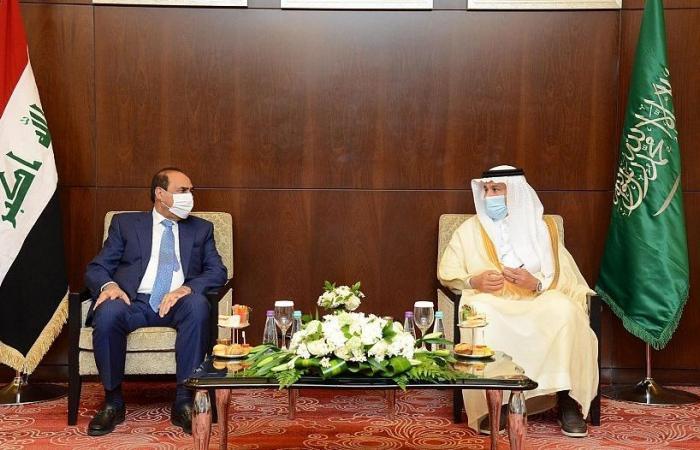 لجنة النقل والمنافذ بالمجلس التنسيقي السعودي العراقي تتفق على زيادة التبادل التجاري