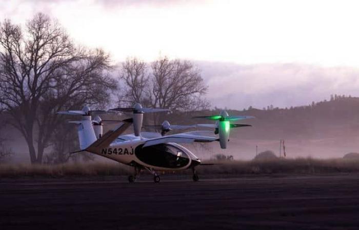 ناسا تختبر التاكسي الجوي الكهربائي مع Joby Aviation